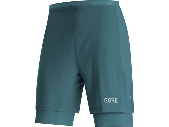 GORE WEAR R5 Short 2 en 1 Homme, dark nordic blue